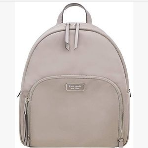 KateSpade Dawn Medium Backpack taupe NWT